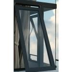 Cửa nhôm việt pháp cửa sổ mở hất