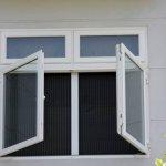 cửa nhựa lõi thép cửa sổ mở quay